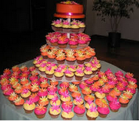 cup cakes and cake