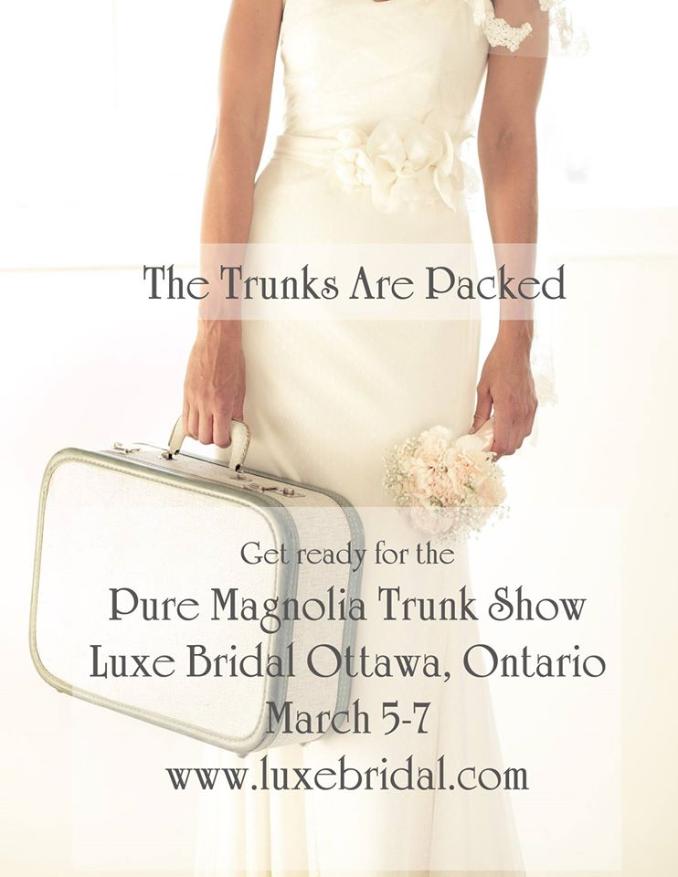 Ottawa Wedding Planner» Blog Archive Pure Magnolia Trunk Show ...