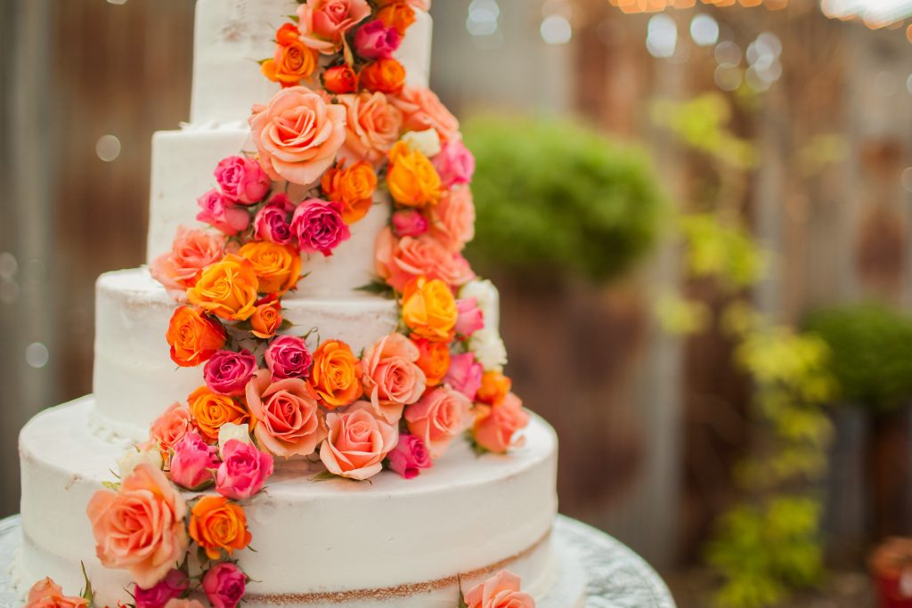 Wedding Cake, Artistic Cake Design